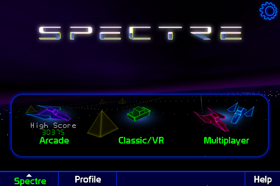 Screenshot Spectre 3D